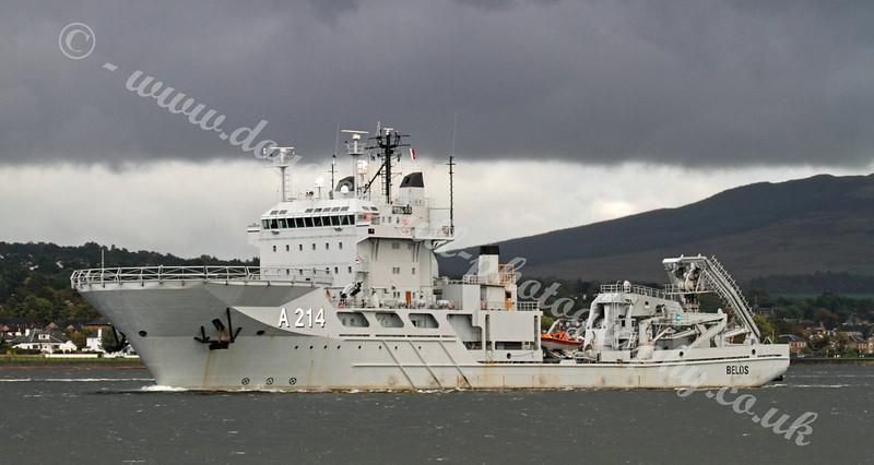 HMS Belos - Swedish Navy Submarine Rescue Vessel