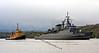 Brazilian Frigate 'Defensora' Approaching Faslane