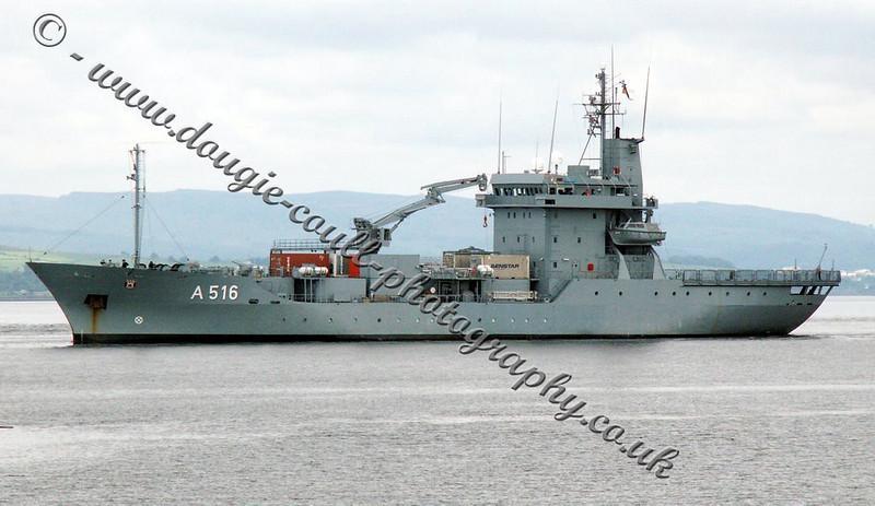 FGS Donau - A 516 - Germany - 5 June 2005