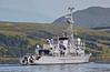 French Frigate 'La Motte-Picquet' (D645) approaching Faslane - 16 June 2014