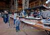 Elderpark Model Boat Club Display in Shed