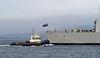 HMS Defender returning from first sea trials - Bruiser Assisting - 14 November 2011