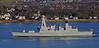 'HMS Defender' Passing  Dumbarton - 1 December 2013