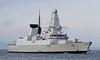 HMS Defender returning from first sea trials - Glasgow Bound - 14 November 2011