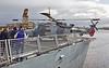 HMS Defender (D36) at KGV, Glasgow - 24 March 2019