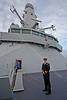 Aboard 'HMS Defender' at  KGV Docks - 29 November 2013