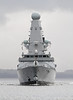 HMS Defender on First Sea Trials - Off East India Harbour - 21 October 2011