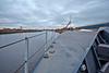 Over the Bow on 'HMS Defender' at  KGV Docks - 30 November 2013