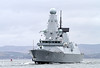 HMS Defender on Second Sea Trials - off East India Harbour - 10 March 2012