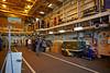 Rear Hanger on 'HMS Defender' at  KGV Docks - 30 November 2013
