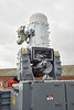 Phalanx Weapon System on HMS Defender (D36) at KGV, Glasgow - 24 March 2019