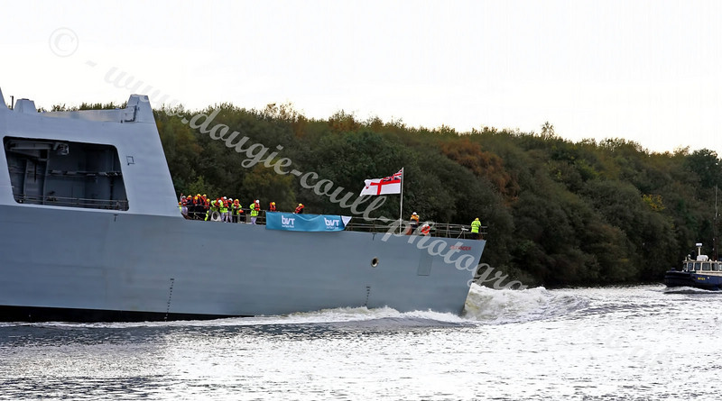 Launch of HMS Defender