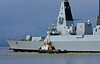 Diamond - Heading for Sea Trials - CMS Buster Supporting
