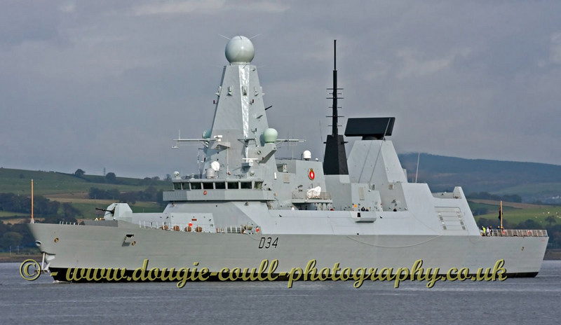 Diamond - Heading for Sea Trials