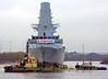 HMS Diamond - Tugs in Attendance