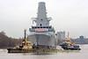 HMS Diamond after Launch