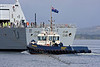 (HMS) Diamond - Bruiser Assisting