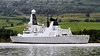 HMS Dragon Departs the Clyde on Her Way to Portsmouth - Erskine Bridge - 27 August 2011