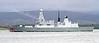 HMS Dragon Heading for Sea Trials
