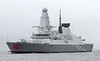HMS Dragon Passing Greenock On Her Trials