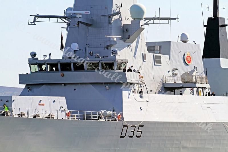 HMS Dragon - Type 45 Destroyer