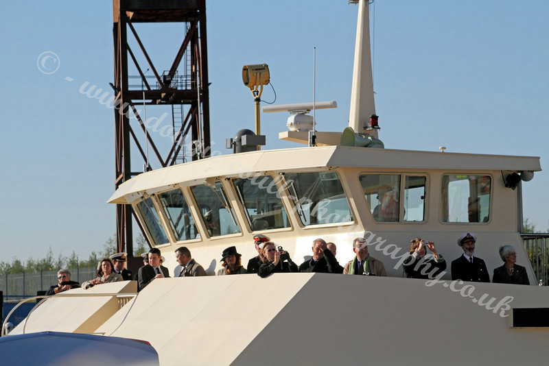 Dignitaries Arrive on Clyde Clipper - 11 October 2010