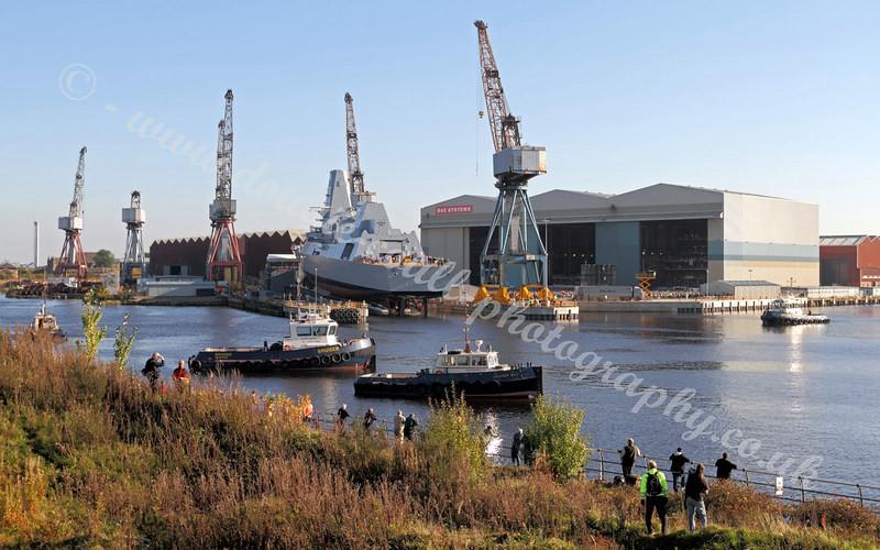 River Scene Before Launch - 11 October 2010