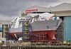 HMS Glasgow at Govan BAE Yard - 4 May 2021
