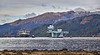 HMS Queen Elizabeth (R08) approaching Glen Mallan - 15 March 2021