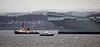 HMS Queen Elizabeth (R08) at Rosyth - 3 April 2019