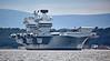 HMS Queen Elizabeth (R08) at Anchor off Rosyth - 26 June 2017