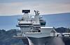 HMS Queen Elizabeth (R08) at Rosyth - 26 June 2017