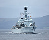 HMS Somerset (F82) off Port Glasgow - 23 September 2016
