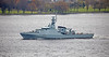 HMS Medway (P223) passing Langbank - 9 November 2018