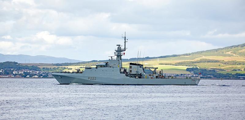 (HMS) Forth at Greenock - 30 August 2017