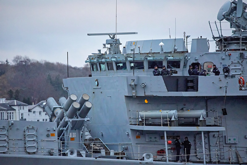 HMS St Albans (F83) off Rhu - 19 November 2018