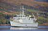 HMS Grimsby (M108) off Rhu - 24 September 2018