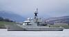 HMS Severn - Off East India Harbour - 1 December 2011