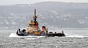 Tugs Returning from HMS Ark Royal Duty