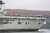 HMS Illustrious - Harriers on Deck
