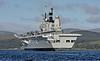 HMS Ark Royal (R07) at Kilcreggan - 5 October 2008