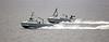 RNMB Harrier and Hazard off Gourock - 3 June 2021