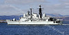 HMS Edinburgh - D97 - Passing Greenock
