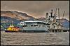 HMS Ark Royal - Glen Mallon Jetty