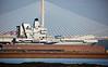 HMS Queen Elizabeth (R08) at Rosyth - 26 May 2017