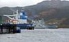 Glen Mallon Jetty with HMS Ark Royal