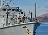HMS Pembroke (M107) off Greenock - 10 March 2016