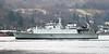 HMS Blyth - Rhu Spit - 16 January 2012
