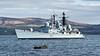 HMS Edinburgh (D97) off Greenock - 26 February 2006