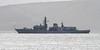 HMS Kent - Off Kilcreggan - 5 February 2012
